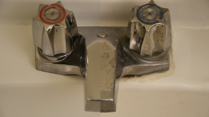 Get Rid Of Calcium Deposits On Sinks And Taps With Impact Cleaning Supplies.