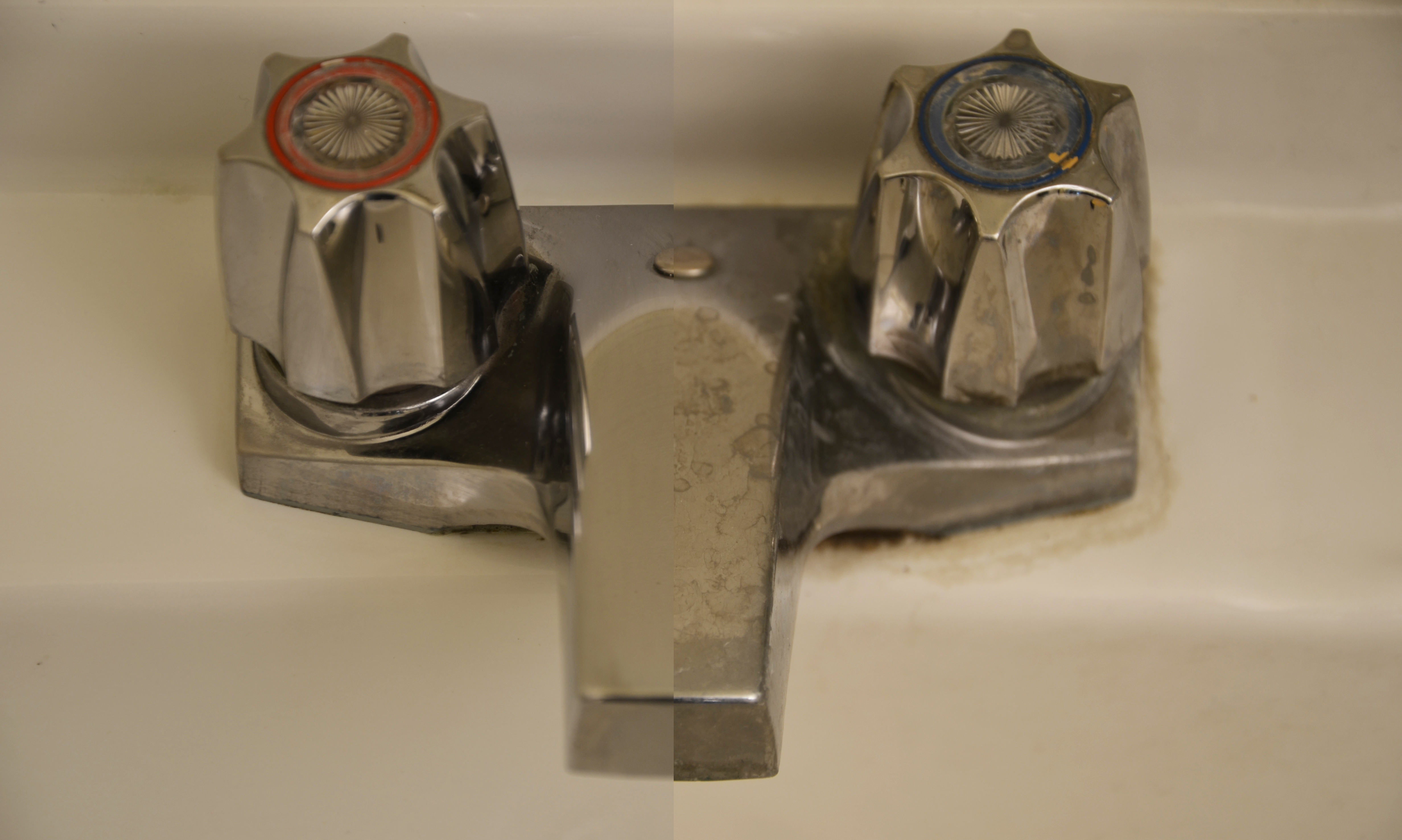 Calcium Buildup on Sinks and Taps: The janitorial supplies you need