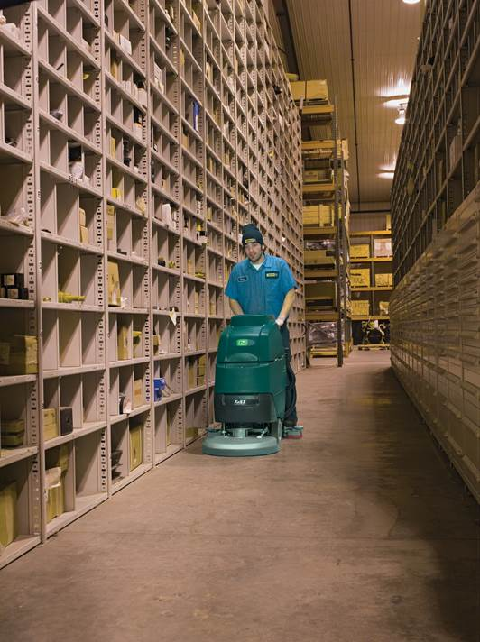 Rent floor cleaning machines for sporadic clean-up jobs.