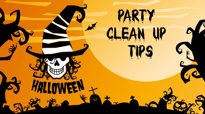 Clean Up After Your Halloween Party With These Tips And Tricks From Glen Martin Limited.